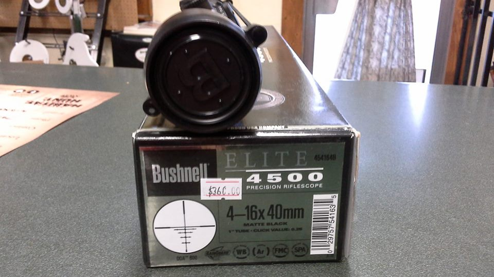Bushnell Elite 4500