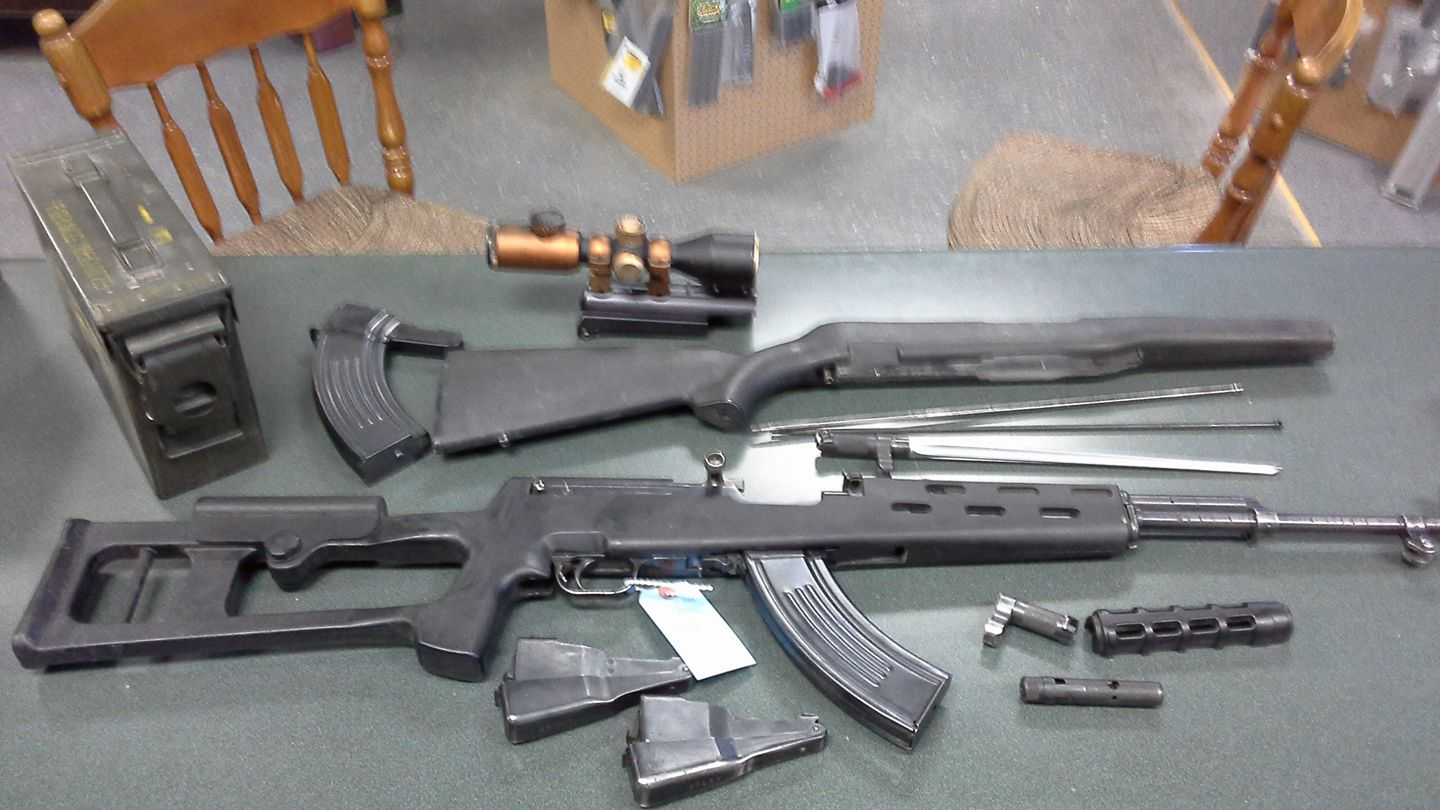 Norinco SKS with extras